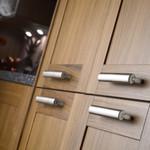 Dovetail aluminium handles