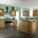 Bauhaus style,clear oak shaker